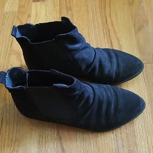 Topshop suede ankle boots size 7.5, 38 EU